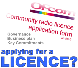 Apply for Ofcom radio licence